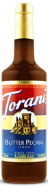 Torani - Butter Pecan Syrup 750 ml, 25.4 fl oz