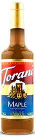 Torani - Maple Syrup 750 ml, 25.4 fl oz