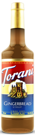 Torani - Gingerbread Syrup 750 ml, 25.4 fl oz