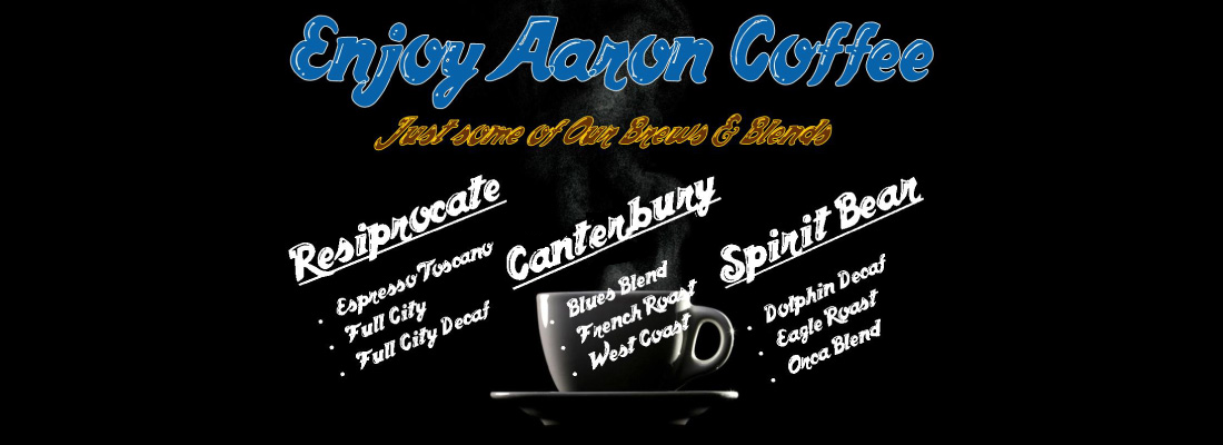 Enjoy Aaron Coffee
