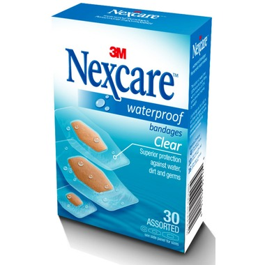 Nexcare™ Water Proof Clear Adhesive Bandage