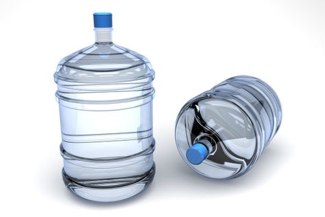 two jugs of water