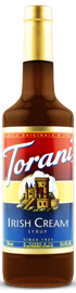 Torani - Irish Cream Syrup 750 ml, 25.4 fl oz