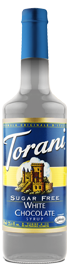 Torani Sugar Free – White Chocolate Syrup 750 ml, 25.4 fl oz
