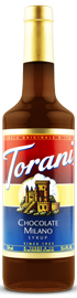 Torani - Chocolate Milano Syrup 750 ml, 25.4 fl oz