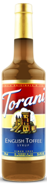 Torani - English Toffee Syrup 750 ml, 25.4 fl oz