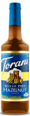 Torani Sugar Free - Hazelnut Syrup 750 ml, 25.4 fl oz