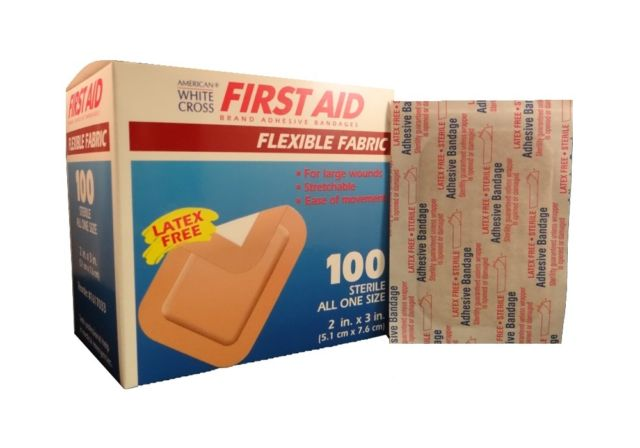 First Aid Flexible Adhesive Bandage