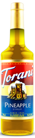 Torani - Pineapple Syrup 750 ml, 25.4 fl oz