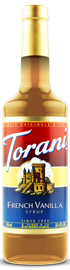 Torani - French Vanilla Syrup 750 ml, 25.4 fl oz