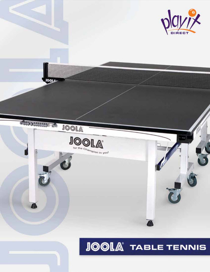 Joola Table Tennis Catalog