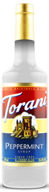Torani - Peppermint Syrup 750 ml, 25.4 fl oz