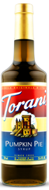 Torani - Pumpkin Pie Syrup 750 ml, 25.4 fl oz