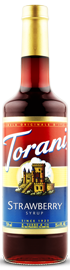Torani - Strawberry Syrup 750 ml, 25.4 fl oz